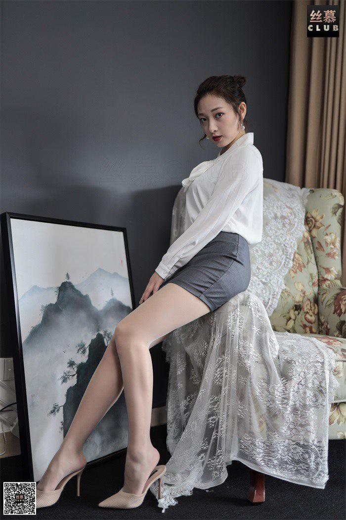 [丝慕GIRL] SM081 天天一元《新模-温柔的小秘书》[79P/157M]